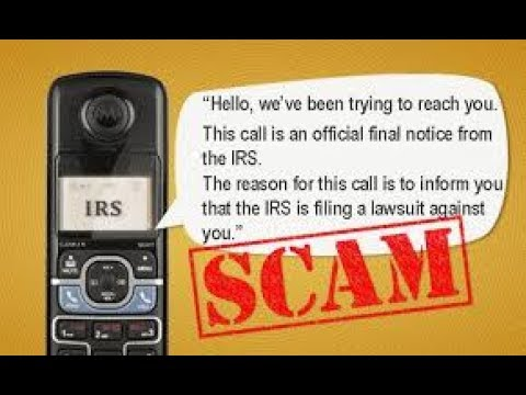 Fun with IRS scamers I