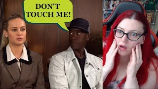 Don Cheadle Snaps At Brie Larson During Endgame Interview!