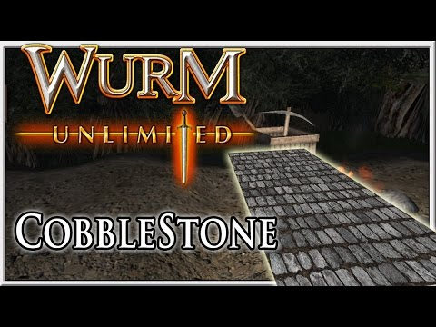 How to Make Cobblestone - Wurm Unlimited - Tutorial
