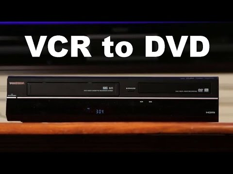 VCR to DVD Recorder Combo