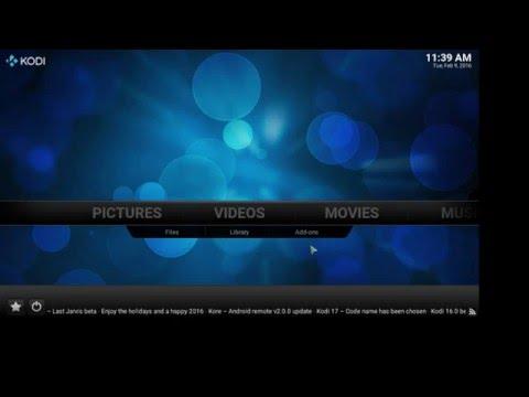 Kodi stream to smart tv, xbox one or any DLNA device