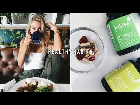 EASY HEALTHY HABITS TO START NOW + VITAMIN ROUTINE | Allegra Shaw