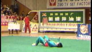Lang Rong Biao - Ditang Quan - 1989 China Wushu Nationals