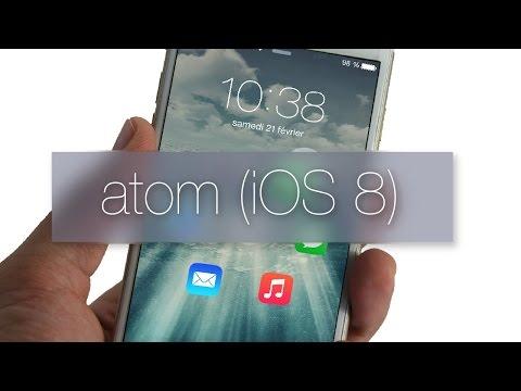 Atom(iOS 8)-UNLOCK FAVORITE APPS FROM LOCKSCREEN