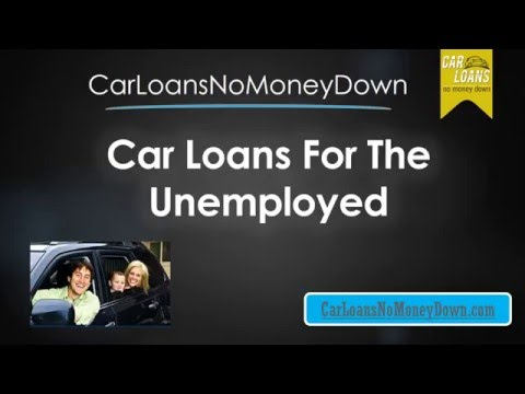 How to Get Unemployed Auto Loans for People with Bad Credit Online