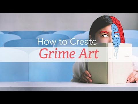How to Create Grime Art With PicsArt