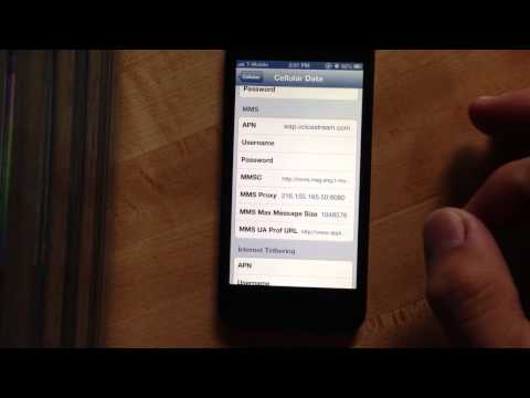 How to fixed mms, data and internet tethering on iPhone for tmobile