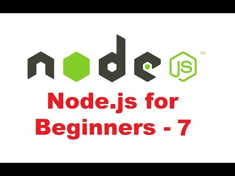 Node.js Tutorial for Beginners 7 - Creating Custom Modules in Nodejs