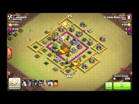 3 Star Clan War Victory - EG vs Boricuas