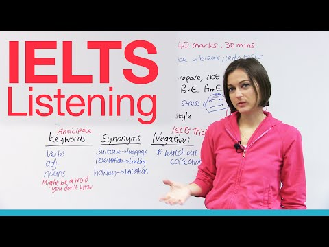IELTS Listening – How to get a high score