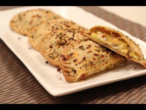 Jain Pizza Pockets | Sanjeev Kapoor Khazana