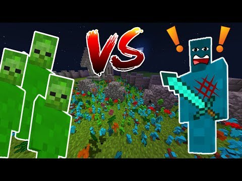 Minecraft ZOMBIE APOCALYPSE CLAY SOLDIERS! • Humans VS Zombies
