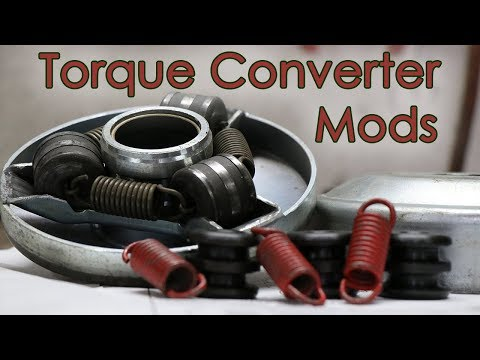 How To Increase Torque Converter Engagement RPM - Comet 40 Series