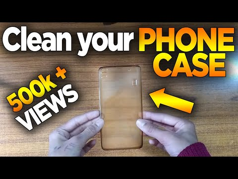 How to clean your Phone Case/Mobile Cover | THE BEST WAY |
