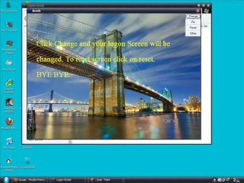 Logon Screen Maker and Changer for XP (100% Working)