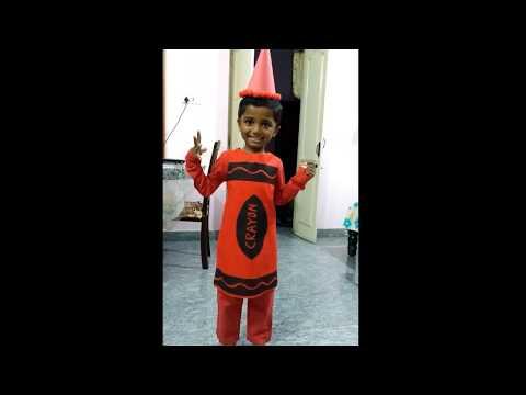 Crayon costume Fancy Dress
