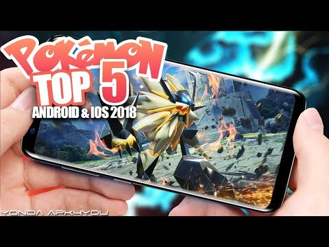 Top 5 New Pokemon Games April 2018 - Android IOS Gameplay