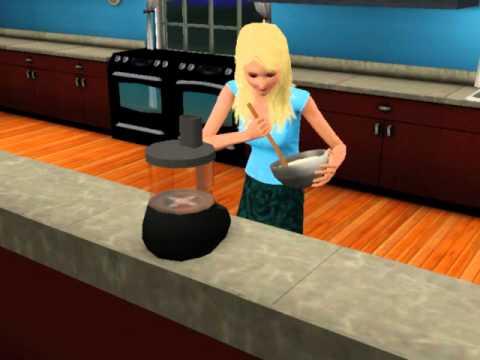 Sims 3 Angel Food Cake