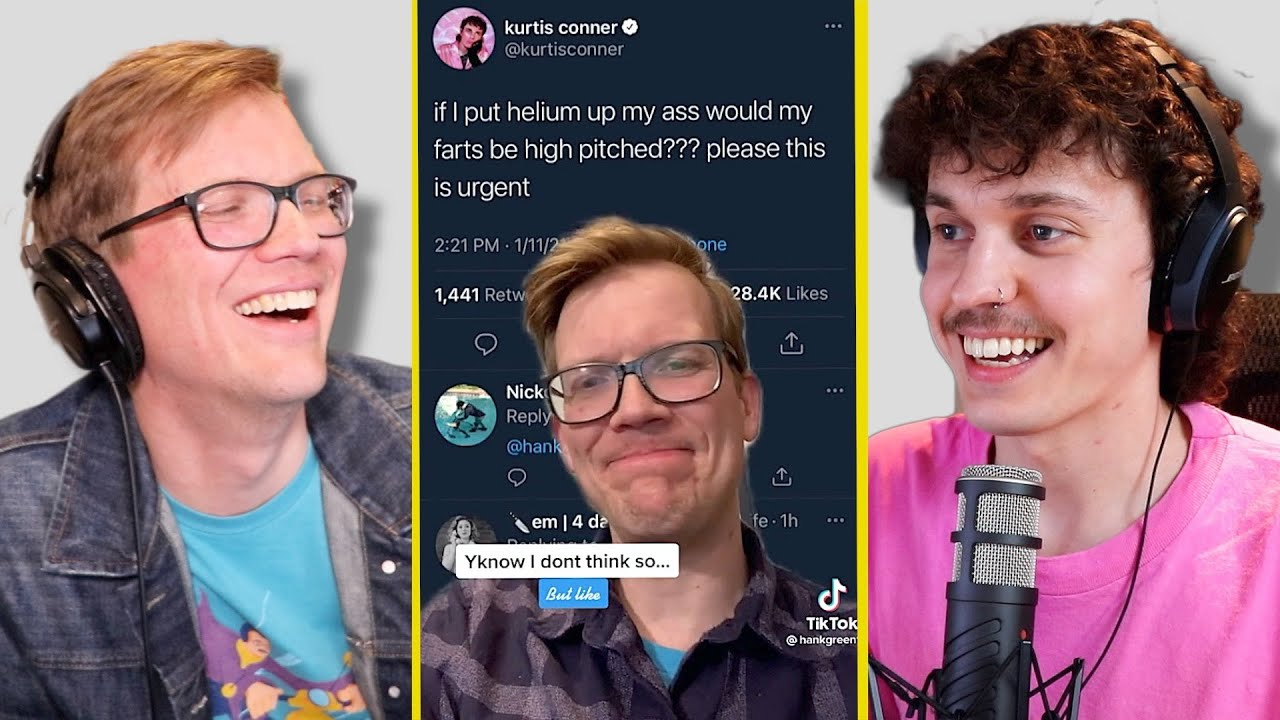 Very Really Good #135: Helium Farts w/ Hank Green