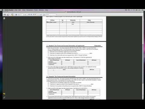 DVC Financial Aid Dependent Verification Worksheet