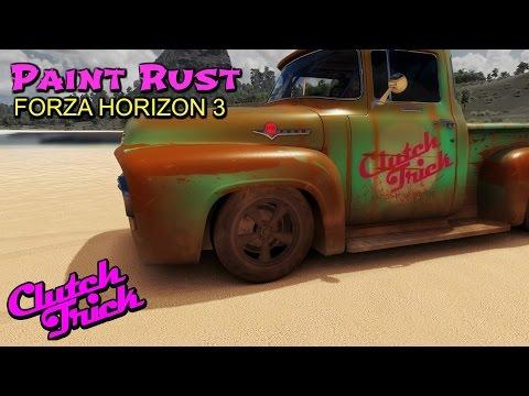 Speed painting rust [Forza Horizon 3]