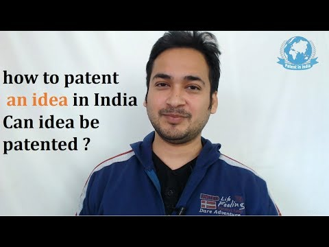 how to patent an idea in India ? Can idea be patented ? video by Prasad Karhad