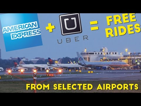Amex Offers Free Uber Rides From These Airports