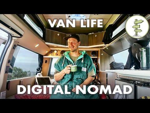 Film Producer Living & Working in a Camper Van - #VanLife Traveler