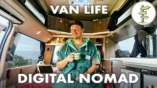 Film Producer Living & Working In A Camper Van - #vanlife Traveler