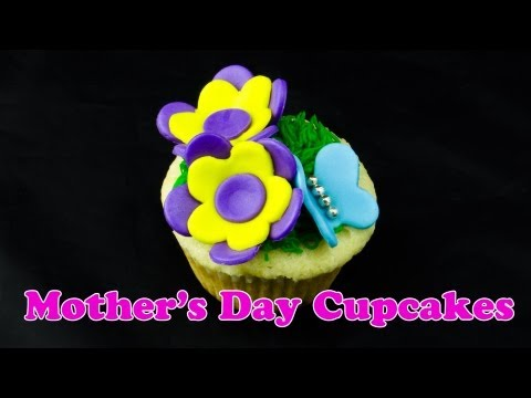 Making Mother's Day Cupcakes