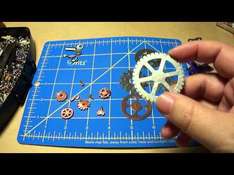 Steampunk Mini Gears and Keys How To