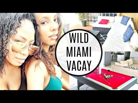 BEST Place to Stay In Miami for CHEAP + Beautiful Black Women In Bikinis
