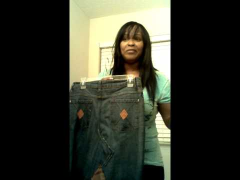 Recycling old jeans into skirts!!!!