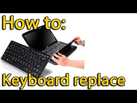 How to replace keyboard on HP G62 laptop