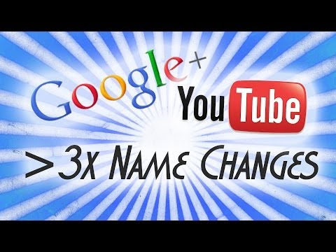 [TUTORIAL] How to Change your YouTube (Google+) Name more than Three times per Two Years