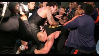 10 Real WWE Backstage Fights That Happened