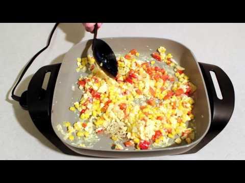 Loaded Vegetable Scrambled Eggs