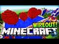 Minecraft Wipeout Total Wipeout Parkour Challenge Minecraft
