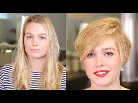 Sexy Haircut Videos Video 010 Blonde Radical Haircut