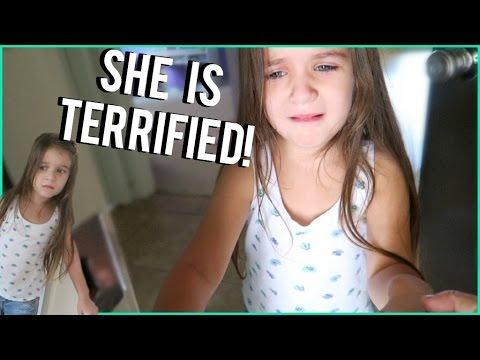 Kid Is Afraid Of Flies!