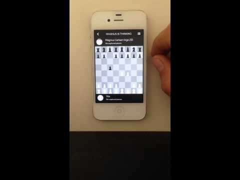 Play Magnus - Chess (iphone 4s)