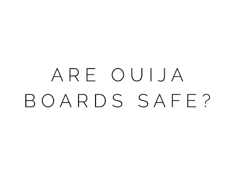 Ask a Psychic: Are Ouija Boards Safe?