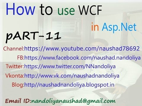 WCF Part11 Use WCF SERVICE LIBRARY in Asp.Net 4.0