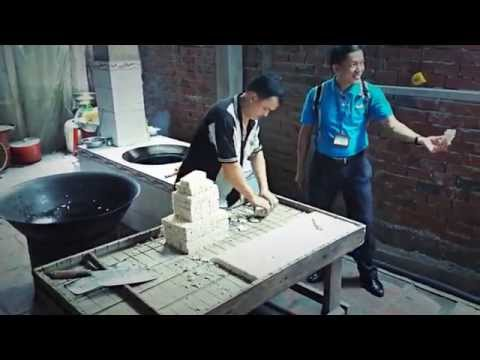 Making Rice Candy Vietnam