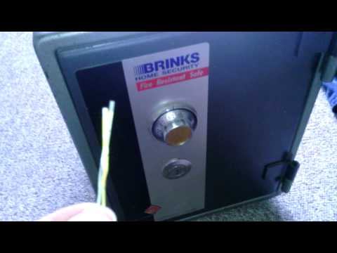 Breaking Into A Brinks Safe (Video#2)