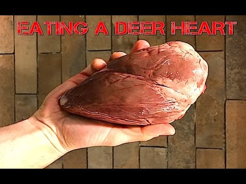 COOKING AND EATING THE DEER HEART