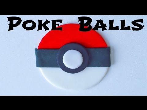 How to Make Pokeman Pokéball Cupcake Toppers!!!