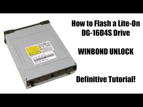How to Flash an Xbox 360 Slim DG-16D4S Winbond Drive