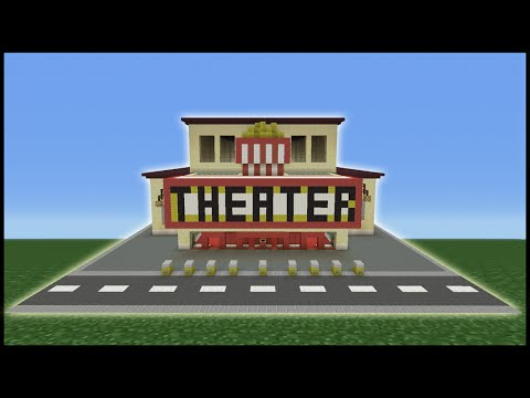 Minecraft Tutorial: How To Make a Movie Theater