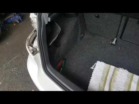 2010 VW Golf brake light change tail lamp removal Volkswagen Golf change brake light